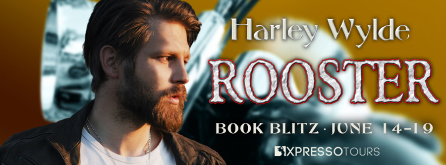 Welcome to the book blitz for ROOSTER, the eighth book in the adult contemporary romance series, Devil's Boneyard MC, by Harley Wylde