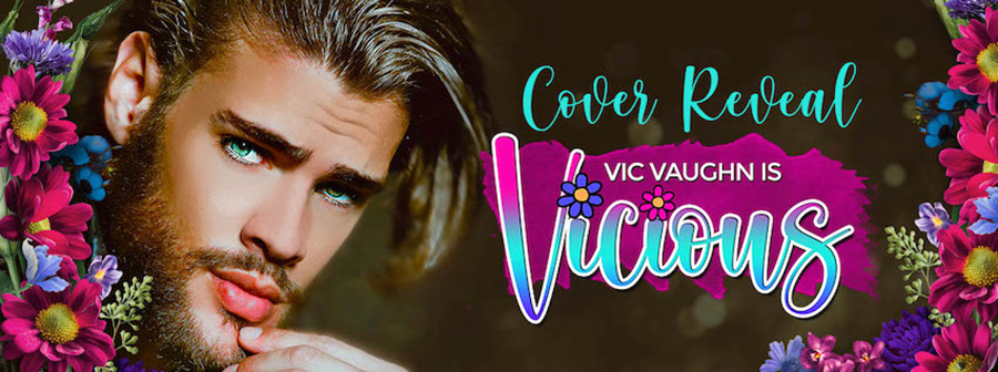 USA Today bestselling author, J.A. Huss, is unveiling the cover to VIC VAUGHN IS VICIOUS, a standalone adult contemporary romantic comedy, releasing August 31, 2021