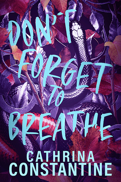 DON'T FORGET TO BREATHE, a standalone young adult mystery, by Cathrina Constantine