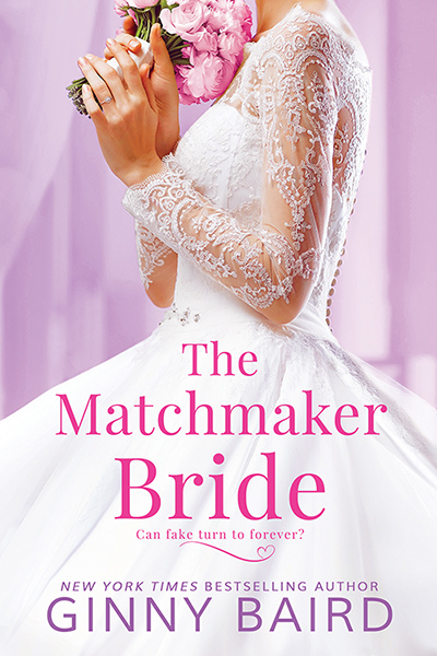 THE MATCHMAKER BRIDE, the second stand-alone book in the adult contemporary romance series, Blue Hill Brides, by New York Times and USA Today bestselling author, Ginny Baird
