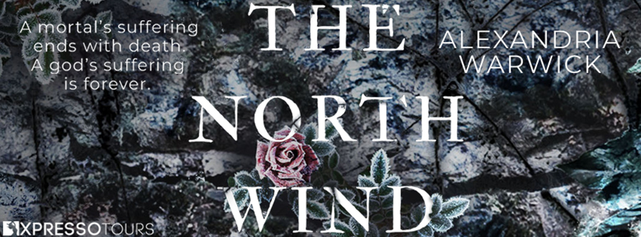 Author Alexandria Warwick is is revealing the cover to THE NORTH WIND, the first book in her new adult fantasy romance series, The Four Winds, releasing January 13, 2022