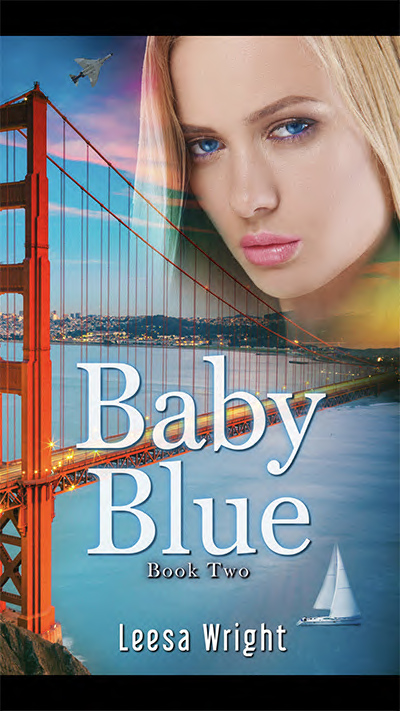 BABY BLUE, the second standalone book in her adult historical romance series, Corrington Brothers, by Leesa Wright