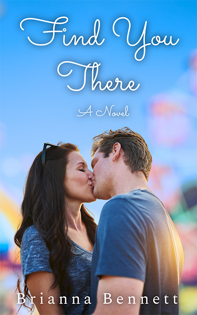 FIND YOU THERE, the first book in the adult contemporary LGBTQ+ romance series, Harmony Lane, by Brianna Bennett
