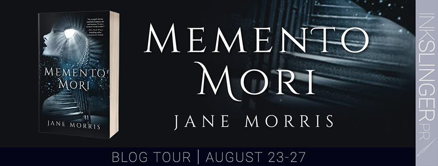 Welcome to the blog tour for MEMENTO MORI, a standalone contemporary historical romance, by Jane Morris