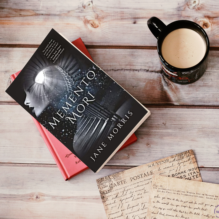 MEMENTO MORI, a standalone contemporary historical romance, by Jane Morris is out now