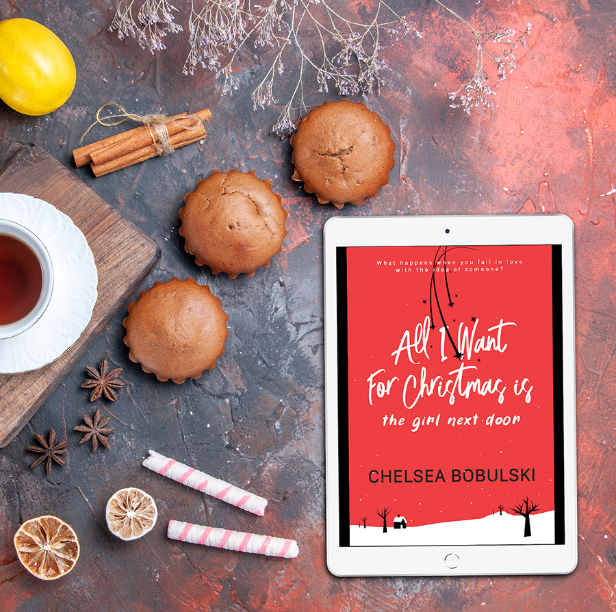 Teaser from ALL I WANT FOR CHRISTMAS IS THE GIRL NEXT DOOR, the first book in her young adult contemporary holiday romance series, All I Want for Christmas,