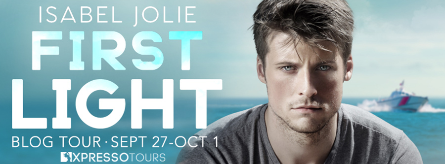 Welcome to the blog tour for FIRST LIGHT, the third book in the adult contemporary romance series, Haven Island, by Isabel Jolie
