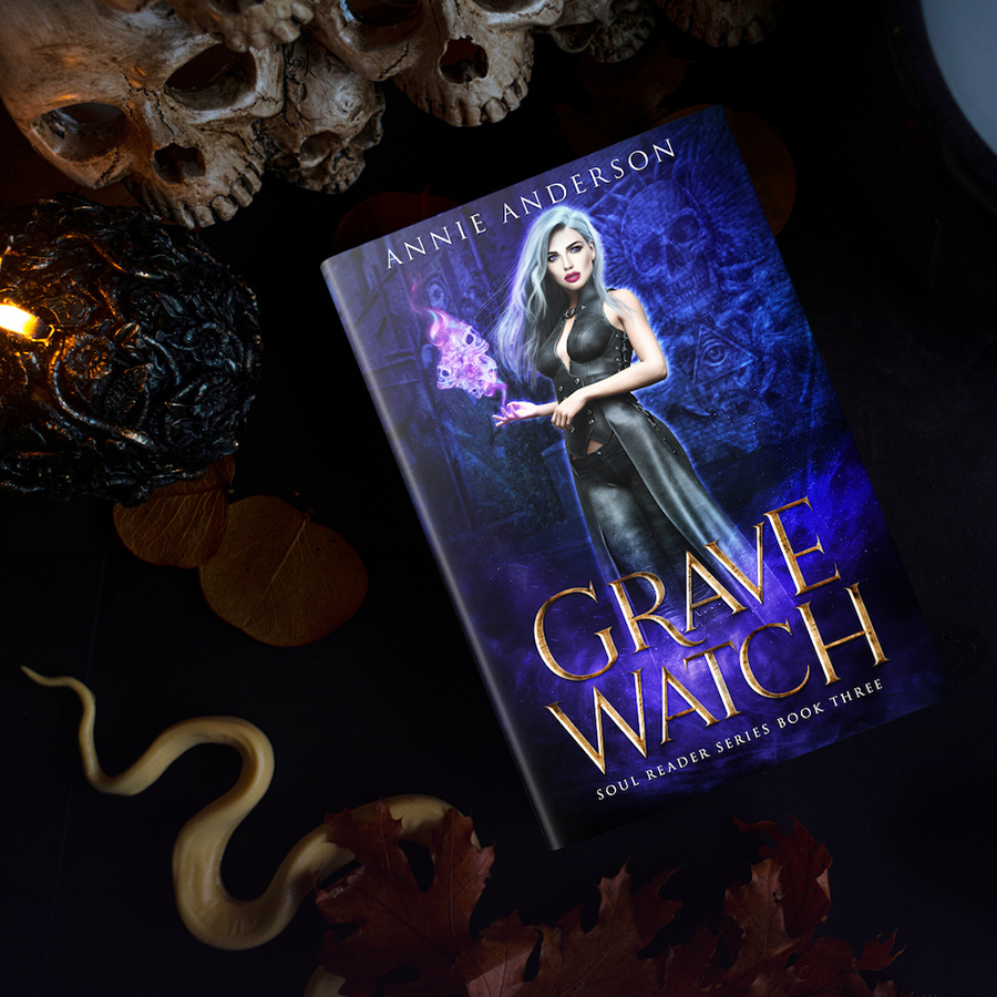 Teaser from GRAVE WATCH, the third book in the adult urban fantasy series, Soul Reader, by Annie Anderson