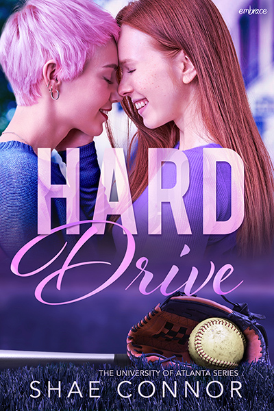 HARD DRIVE, the second book in the new adult contemporary LGBTQ+ sports romance series, University of Atlanta, by Shae Connor