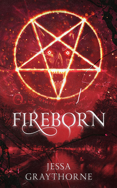 FIREBORN, the first book in the adult urban fantasy series, Halley Ashwood, by Jessa Graythorne