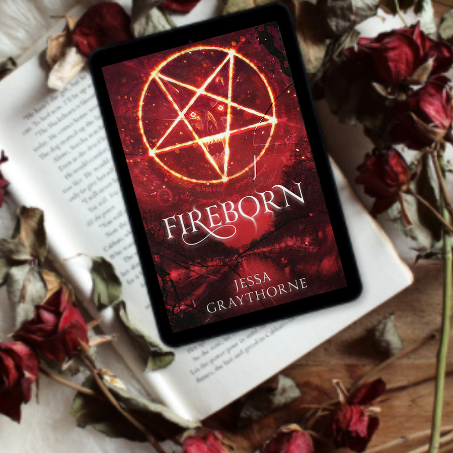 Teaser from FIREBORN, the first book in the adult urban fantasy series, Halley Ashwood, by Jessa Graythorne