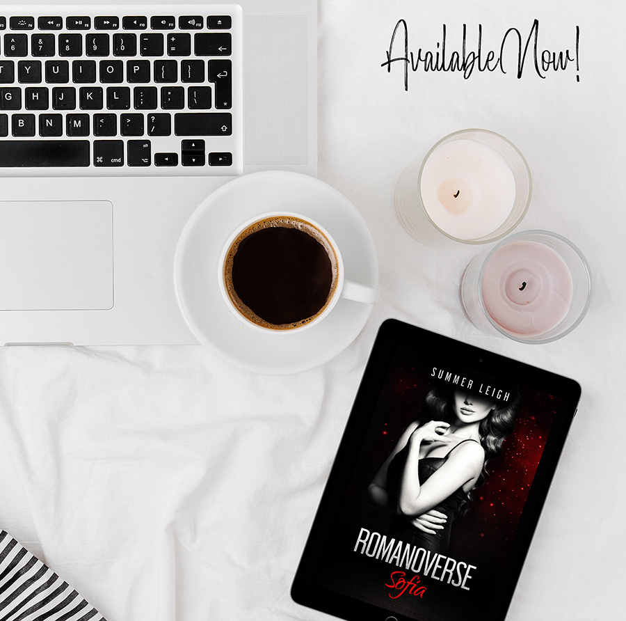 SOPHIA, the first book in the adult contemporary romance series, Romanoverse, by Summer Leigh is available now!