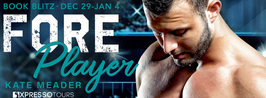 Welcome to the book blitz for FOREPLAYER, the fourth book in the adult contemporary sports romance series, Rookie Rebels,by USA Today bestselling author Kate Meader