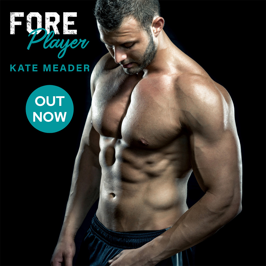 FOREPLAYER, the fourth book in the adult contemporary sports romance series, Rookie Rebels, by USA Today bestselling author Kate Meader