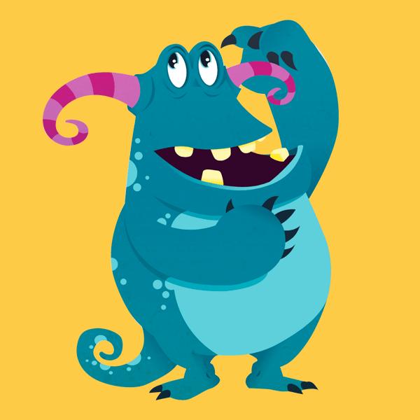 Thhink monster