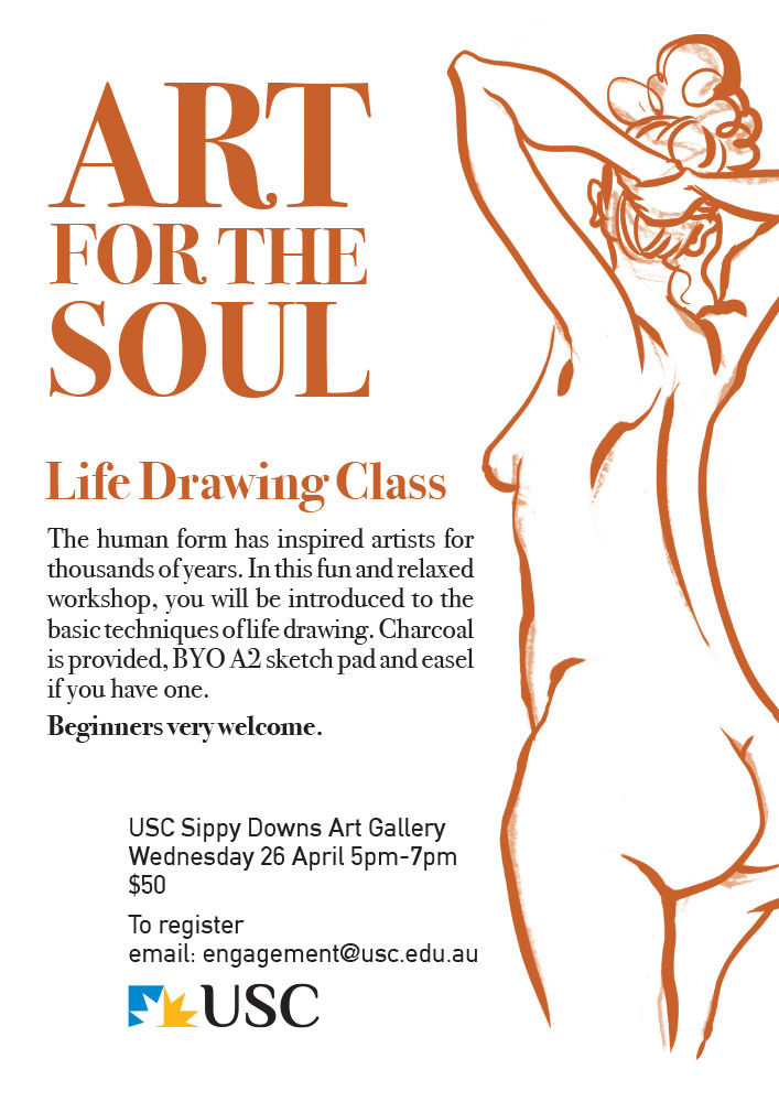 LIfe drawing by Thomas Hamlyn-Harris