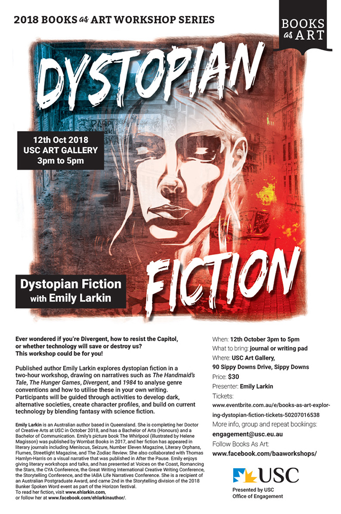 Dystopian Fiction, by Emily Larkin