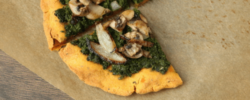 Vegan Pizza Crust Recipe [Secret Ingredient: Sweet Potato]