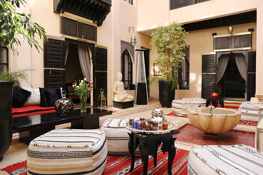 Riad Ba Sidi Marrakech -Patio