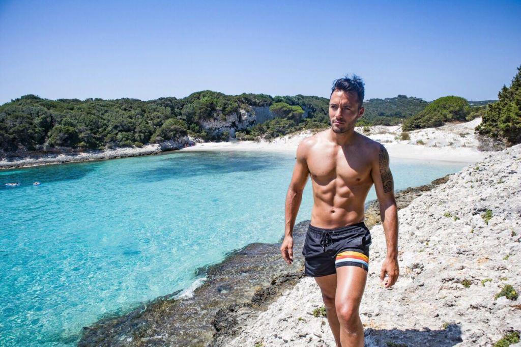 Corse - Bonifacio - Plage du petit sperone