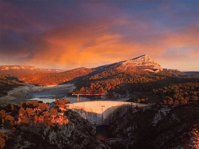 Aix-en-Provence - Barrage de Bimont