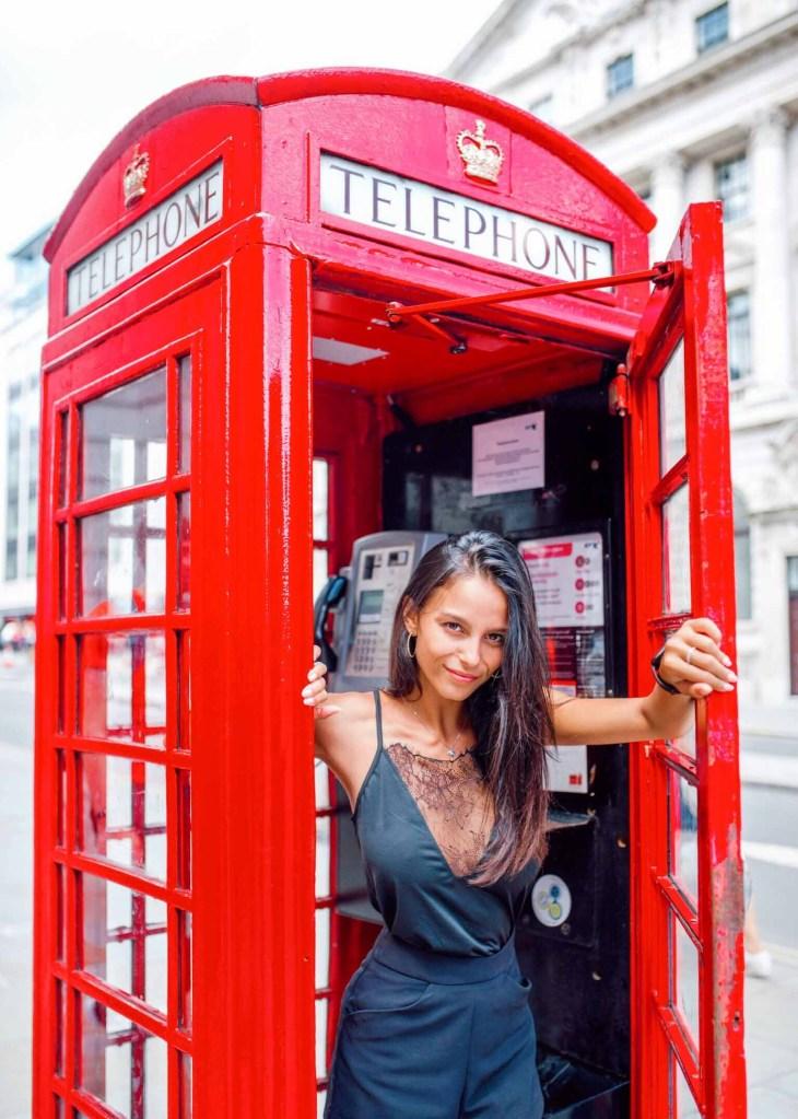 Londres - Cabine téléphonique