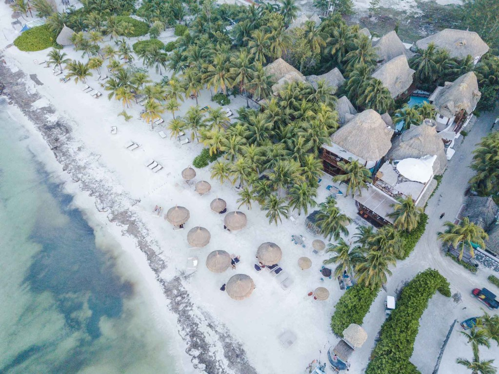 Holbox island By Drone