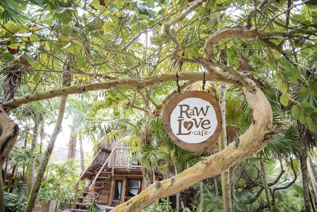 Raw Love Bar and restaurant