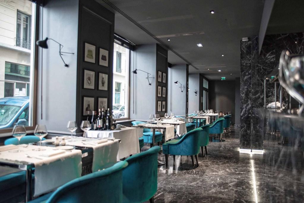 Restaurant italien Angelo | Hôtel 5 étoiles Lyon