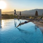 Grande piscine de l'hôtel