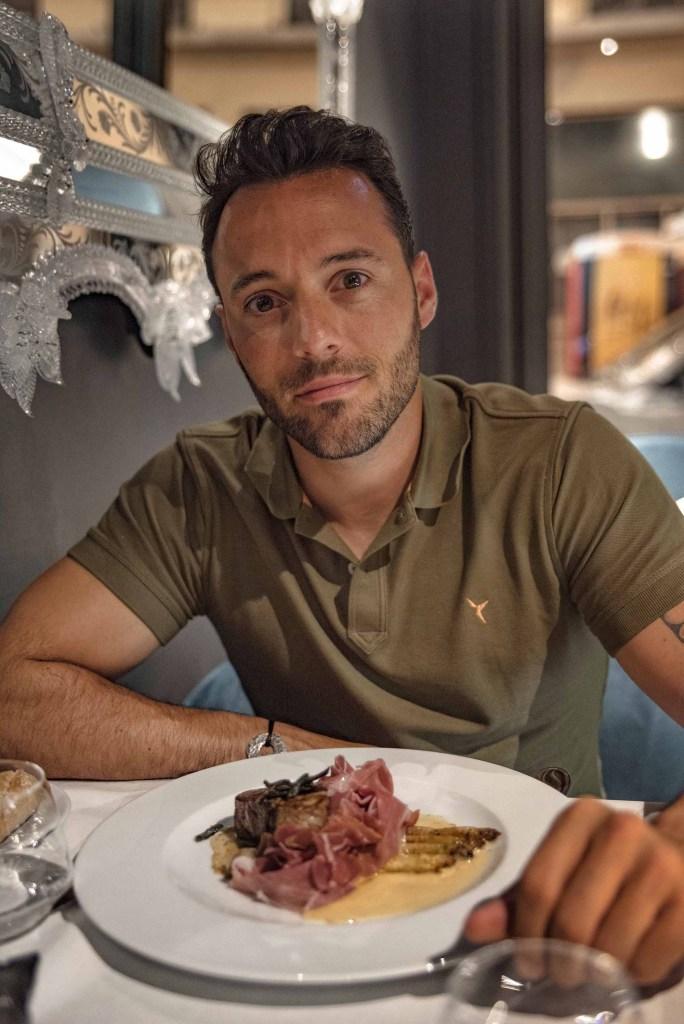 Restaurant italien Angelo Boscolo Lyon plat