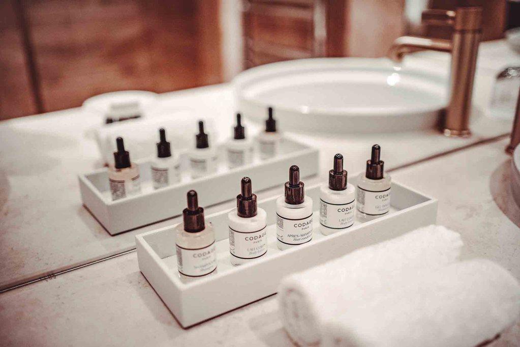 Codage produits corps et visage