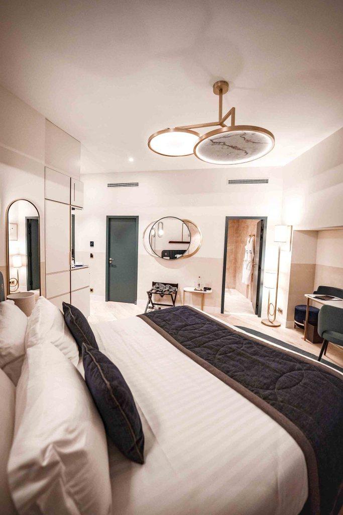 Chambre de l'hôtel L'Imperator