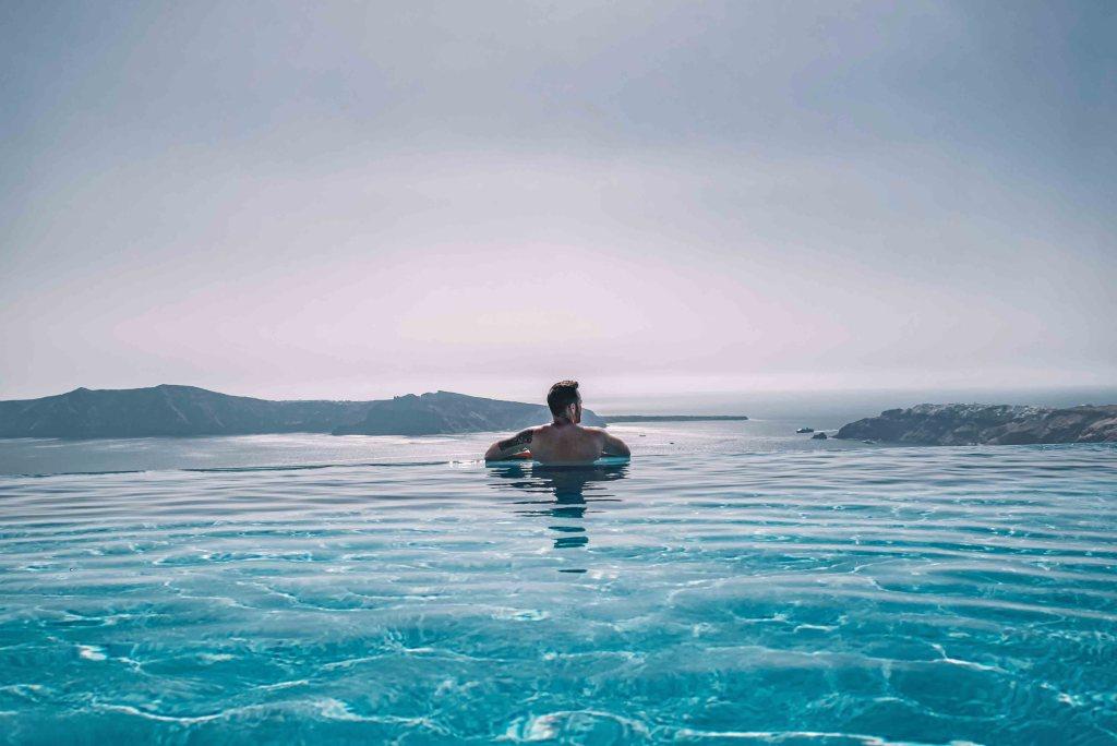Cavo Tagoo Santorin - Swimming Pool with sea view