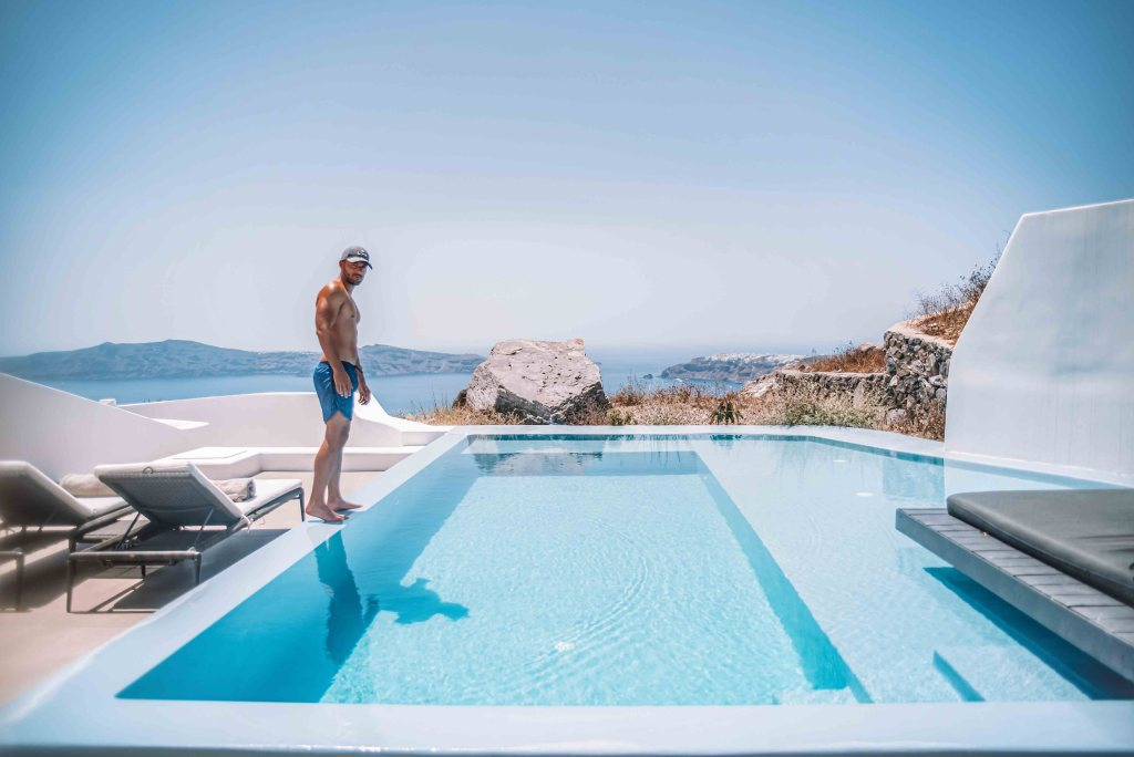 Cavo Tagoo Santorini - Hotel Room with private pool