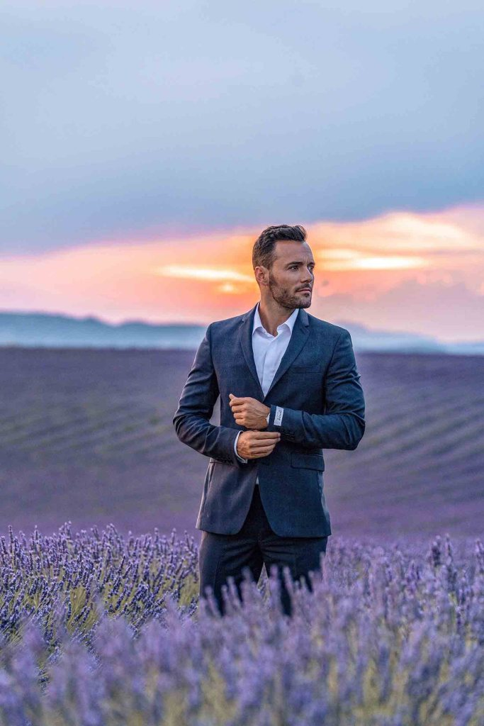 Valensole - Champs de lavande - Photo shoot