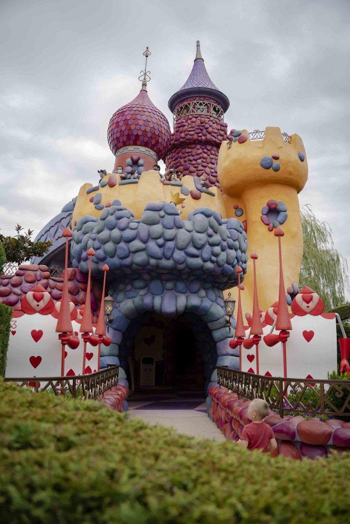 Labyrinthe d'Alice aux pays des merveilles à Disney
