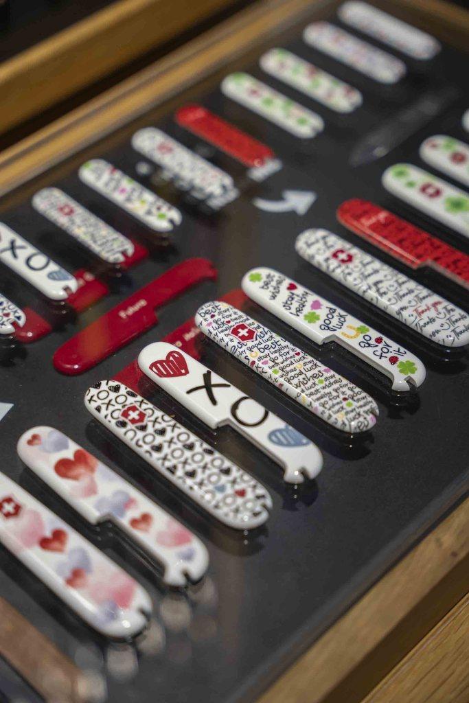 Victorinox atelier couteau Suisse