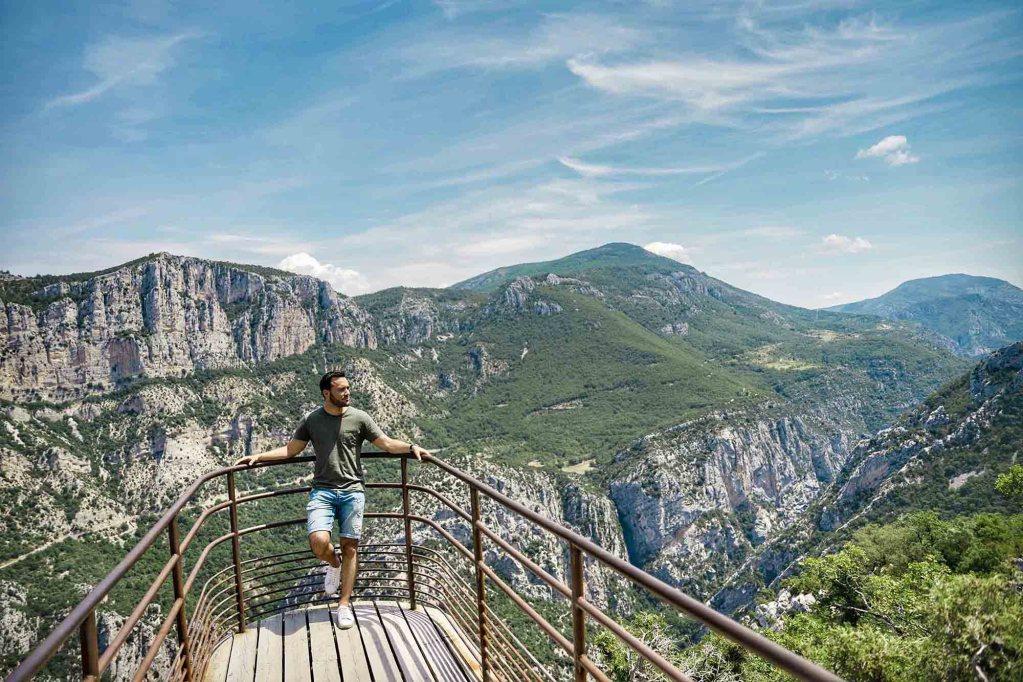 Vue Gorges du Verdon - Nature Provence