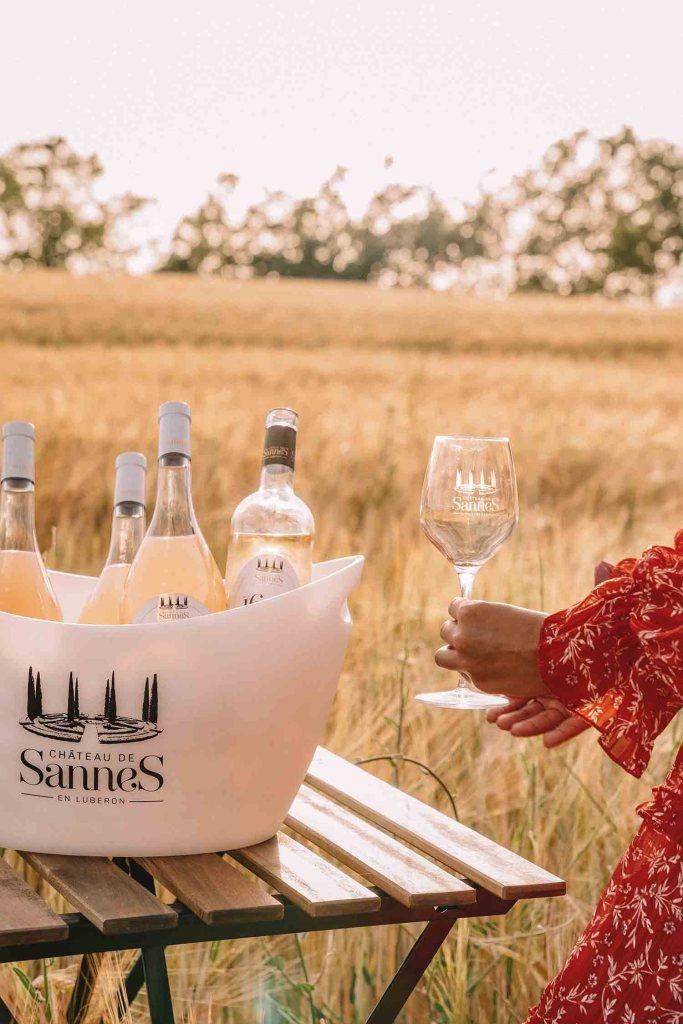 Bouteilles de Vin du Château de Sannes
