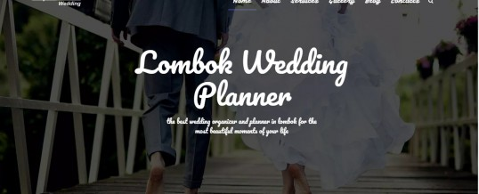Lombok Wedding Organizer