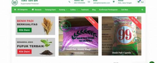 Onlineshop Pertanian CV. Berkah Nandur
