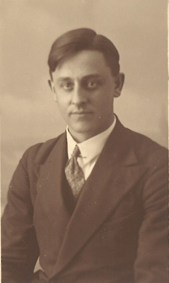 My grandfather, Simon Brouwer, a headmaster in the Dutch East Indies.