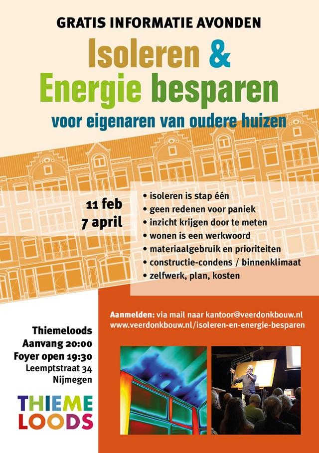 Isoleren Energie besparen Voorjaar 2020