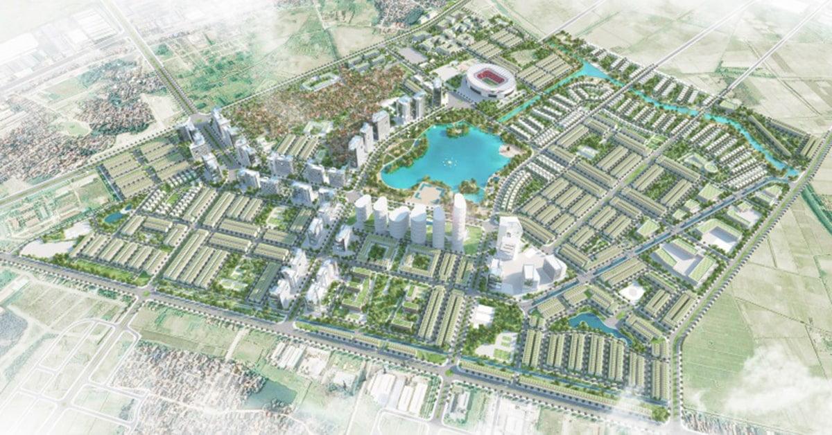 Dự án khu đô thị Hòa Phát Phố Nối