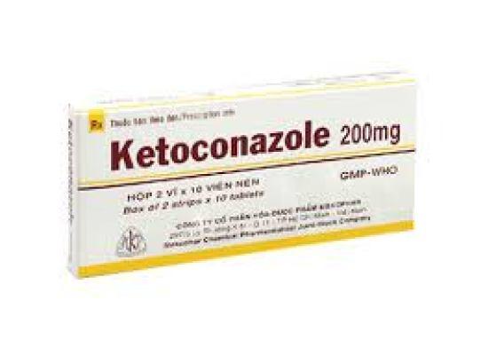 Đặc biệt Ketoconazole chỉ cần bôi 1 lần/ngày.
