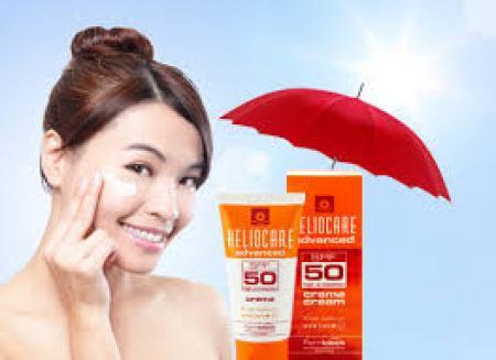 kem chống nắng Heliocare Cream SPF 50 -Loại kem chống nắng tốt nhất.