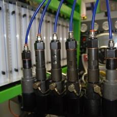 photo détail banc test pompe à injection