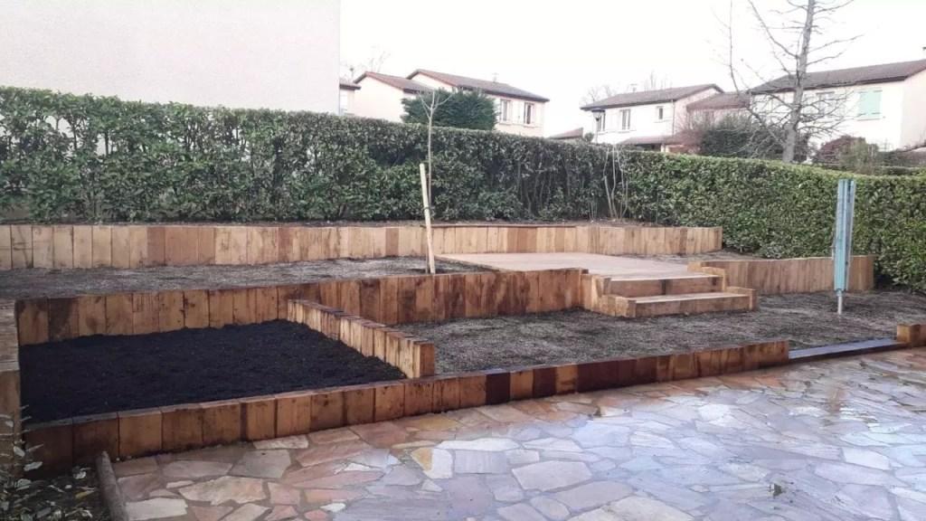 Le soutènement peut être aisément combiné à la création de planchers en bois