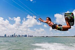 Charlotte Consorti Professional Kiteboarder